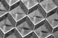 Necker (Black&White) (jonaskey) Tags: abstract minimal cube opticalillusion blackandwhite pattern