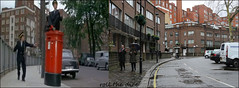 Norfolk Crescent`1967-2018 (roll the dice) Tags: london westminster w2 old arabs changes collection muslim local history sad mad canon tourism tourists fashion royalmail comedy filming locations sixties flats dwelling surreal streetfurniture trees architecture actors film fun funny oldandnew pastandpresent hereandnow uk classic art urban england faust swinging devil stanleydonen post windows met cars trafficwardens meters costume balance parking people