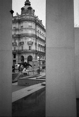 (Hugo Bernatas) Tags: ilford delta 3200 skateboard film 35mm analog lyon france blackandwhite olympus xa2
