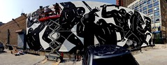 Cleon Peterson (drew*in*chicago) Tags: street art artist chicago 2017 installation mixed media