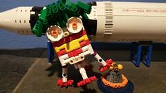 SPLASHCLOWN (Daddy Ogre) Tags: lego technic apollo cubesat lander harleyquinn joker