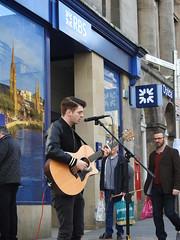 Calvin Prior Singer Guitarist Songwriter Inverness (davefree99) Tags: calvin prior singer guitarist songwriter inverness highlands scotland rbs bank
