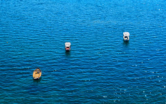 Boats (Patrycia g) Tags: summer texture boats colors shimmering glittering