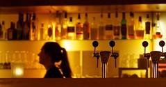 A night at the bar. (alterahorn) Tags: bar nacht night nuit restaurant whisky münster stadthafen olympus olympupenf mzuiko mzuiko75mm