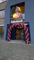 ballonnenboog 8 meter oranje blauw