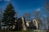 Kirch-Ruine / Church-Ruin (R.O. - Fotografie) Tags: lost place kirchruine churchruin ruine ruin kirche church rofotografie panasonic lumix dmcfz1000 dmc fz1000 fz 1000 blauer himmel blue sky germany hessen rotten