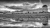 LLandudno Sea Front.. (Philip R Jones) Tags: sliders hss bw reflection synthesisedreflection