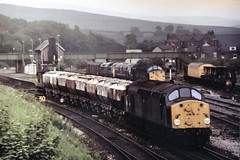 40067 with D1041 & D832 en route to Horwich works for the open day 11/06/1980 (37686) Tags: 40067 with d1041 d832 en route horwich works for open day 11061980