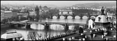Prague bridges (konstantin.tilberg) Tags: praha prague bnw bw city 6x17