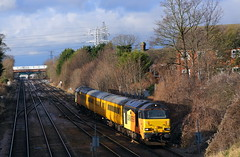 67027 Bedford North (NB Railways) Tags: 67027 class67 colasrailfreight mml midlandregion bedford bedfordshire england europe 1q51 testtrain