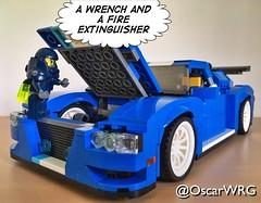 #LEGO_Galaxy_Patrol #LEGO #creator #LEGOcreator #31070 #TurboTrackRacer #Turbo #Track #Racer #FireExtinguisher #Wrench #🔧 (@OscarWRG) Tags: legogalaxypatrol lego creator legocreator 31070 turbotrackracer turbo track racer fireextinguisher wrench