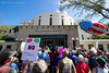 A rally for sensible gun laws held in Vero Beach. (Glotzsee) Tags: florida indianrivercounty verobeach gunlaws gunviolence automatic rifles assaultrifles democracy tragedy action political politics change nra money billposey eringrall