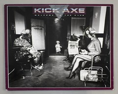 "KICK AXE Welcome to the Club 12"" LP ALBUM VINYL (vinylmeister) Tags: vinylrecords albumcoverphotos heavymetal thrashmetal deathmetal blackmetal vinyl schallplatte disque gramophone album"