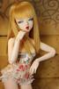 Golden Girl (HoshiBerry ★) Tags: bjd abjd ball jointed doll balljointeddoll unoa alchemic labo alchemiclabo gentaroaraki gentaro araki mnf minifee fairyland hybrid msd girl lady corset gold blonde akubi modded