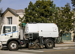Street Sweep 1-16-18 (Photo Nut 2011) Tags: california sanitation wastedisposal truck garbagetruck trashtruck refuse junk waste garbage trash streetsweep lagunabeach orangecounty