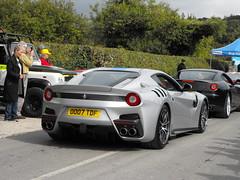 Ferrari F12 TDF - OO07 TDF (2) (Andy Reeve-Smith) Tags: ferrari italy italian kophillclimb2017 kophill kophillclimb princesrisborough buckinghamshire bucks oo07tdf f12 tdf f2tdf