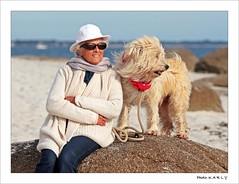 Rocksolid Friendship (BegMeil44) Tags: bretagne breizh bzh britanny fouesnant begmeil gripik labrit pyrenäenhütehund bergerdespyrénées