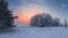 Frosty winter sunrise (Mika Tuomela) Tags: winter wintermorning wintersun sunlight sunrise sun foggy frosty frostymorning landscape landscapephotography scenery winterlandscape nikond750 nikkor20mmf18g nikkor