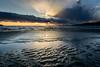 レンブラント光線 #2ーRembrandtrays #2 (kurumaebi) Tags: yamaguchi 秋穂 nikon d750 nature 自然 landscape 海 sea 夕焼け dusk 薄明光線 rembrandtrays