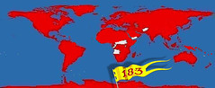 World Map 183 (stevefenech) Tags: stephen fenech country count 183 world traveler 2018 steve fennock