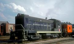 KCS S12 1161 (Chuck Zeiler) Tags: kcs milw baldwin s12 1161 railroad locomotive kansascity knoche chuckzeiler chz
