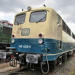 Elektrische Lokomotive 140 423-2 ex Deutsche Bundesbahn thumbnail