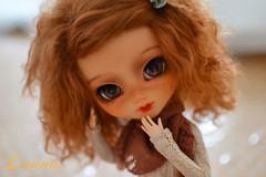 Coronille (~Louna~) Tags: pullip fc full custo custom fullcusto obitsu mohair wig
