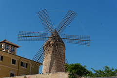 Windmill - Palma - Mallorca (Peter Goll thx for +7.000.000 views) Tags: 2014 mallorca urlaub windmill palma windmühle insel island d800 nikkor nikon