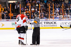 "Kansas City Mavericks vs. Cincinnati Cyclones, February 3, 2018, Silverstein Eye Centers Arena, Independence, Missouri.  Photo: © John Howe / Howe Creative Photography, all rights reserved 2018. • <a style=""font-size:0.8em;"" href=""http://www.flickr.com/photos/134016632@N02/40086496382/"" target=""_blank"">View on Flickr</a>"
