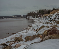 2018 - photo 035 of 365 - Penny Beach on Bluff Road in Avonport, Nova Scotia (old_hippy1948) Tags: