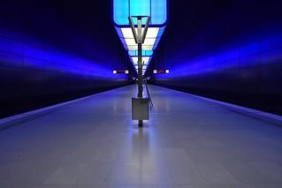 Hamburg U-Bahn Bahnhof HafenCity Universität