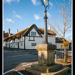 Market Cross and Thatched House thumbnail
