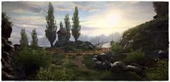 Lost In Time (~Scimo~) Tags: screenshot landscape sun sonne landschaft tree nature natur sky ethan