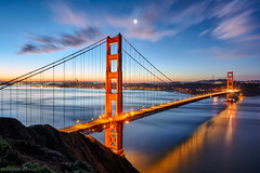 Good Morning Clear and Cold San Francisco (bowenbee) Tags: sanfranciso california flickr goldengatebridge