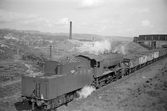Ex-WD 2-8-0 Heading to Shipley (Windhill) (shipley43) Tags: steam freight shipley west yorkshire scan