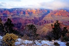 Grand Canyon National Park (Kramskorner) Tags: grand canyon national park winter snow colorado river red rock nature landscape arizona south rim sony alpha nex
