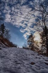 Ma quanto è dura la salita (Damiano Sansoni) Tags: salita damiano lundo sony sigma a77 neve blu hdr natura inverno instatrentino trentino giudicarie visittrentino