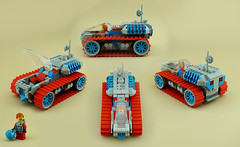 The Drifter... (TFDesigns!) Tags: lego space rover febrovery treads planet frost