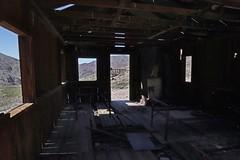 Bunkhouse at Inyo Mine (Ron Wolf) Tags: deathvalleynationalpark echocanyon historic nationalpark architecture building mine mining structure california