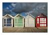 Cabines de plage (Rémi Marchand) Tags: cabine plage couleur canon7d cayeuxsurmer picardie hautsdefrance france cabinedeplage