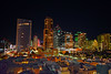 San Diego Skyline, 2018 (oybay©) Tags: sandiego san diego sandiegocalifornia california sd ca embassysuites downtown westview west view vista iconic skyline building buildings night evening color colorful colors colour colours 11thfloor