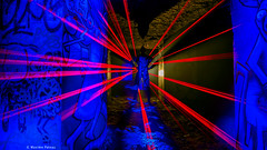 Snipered (#Photosplus) Tags: snipered lflp photos plus lightpainting mickey mouse souris kangourou graff graffs tag tags catacombes paris underground sous terre sol night photography photographie light lumière luz nuit noche bleu blue azul red rojo rouge color colors couleur couleurs chaud froid hot cold caliente frío infinitexposure longexposure long exposure maxime pateau photosplus