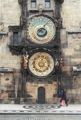 Astronomical Clock, Prague (yon_willis) Tags: praha českárepublika česko staréměsto staroměstskénáměstí staroměstskýorloj staroměstskáradnice prague czechrepublic astronomicalclock 2014 oldtownhall clock oldtownsquare oldtown landmark europe