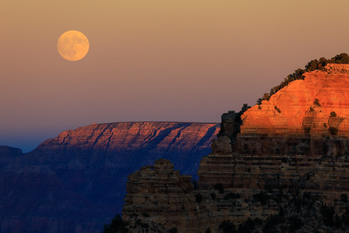 Full Moon @GrandCanyon