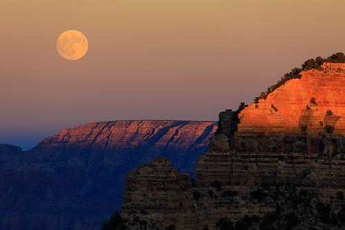 Full Moon @GrandCanyon
