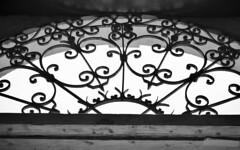 Detalles (Roy DR) Tags: blackandwhite geometry light shadows ironwindow window iron