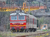 44 111 with passenger train 30140 Sliven - Dimitrovgrad - 09.04.2015 г. (DMKarev) Tags: bdz dimitrovgrad бдж 44111 train