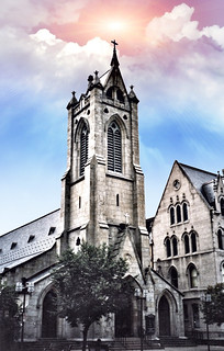 Scranton Pennsylvania  ~ St. Luke's Episcopal Church ~ Historic Structure
