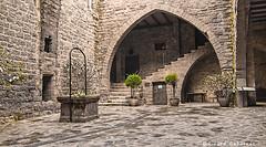 2476  Detalle del Castillo de Cardona, Barcelona (Ricard Gabarrús) Tags: castillo casa edificio parador patio pozo ricardgabarrus olympus ricgaba