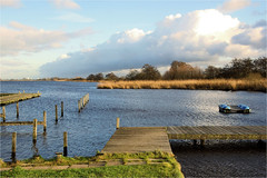 landscape............. (atsjebosma) Tags: bomen clouds sky wolken lucht water riet landschap leekstermeer atsjebosma groningen thenetherlands nederland